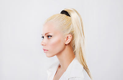 Basic Sleek Ponytail