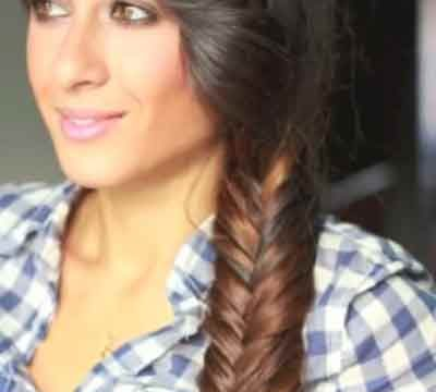 Fishtail Braid Hairstyles For Black Women