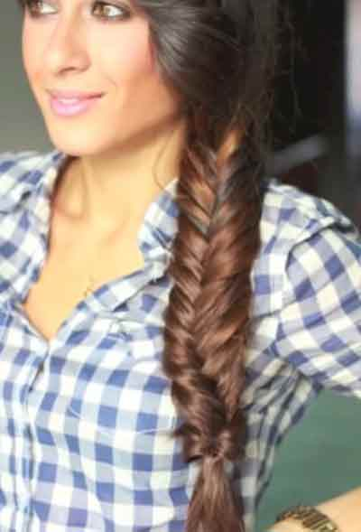 Swell Fishtail Braid Hairstyles For Black Women African American Haircut Hairstyle Inspiration Daily Dogsangcom