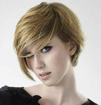 Playful-Layered-Short-Bob