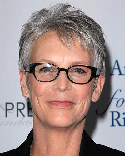 short hairstyles with color and highlights : Haircuts-for-Women-Over-60-with-Glasses