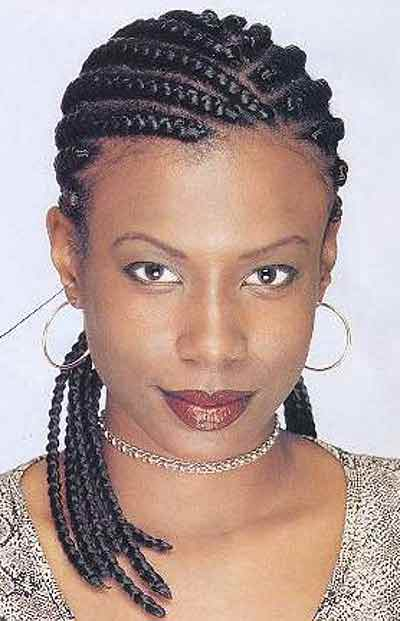 African Braids Hairstyles for Women  Pictures of Braid Haircut