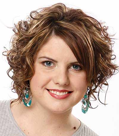 Short-Hair-Styles-for-Fat-Women-with-Curly-Hair