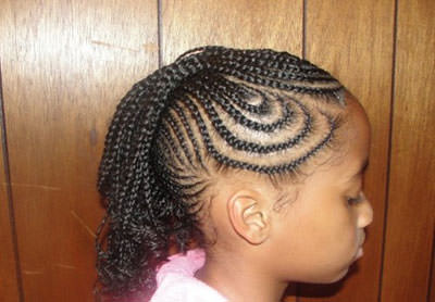African American Braid Hairstyles for Kids