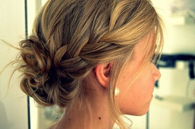 Messy-Braided-Bun