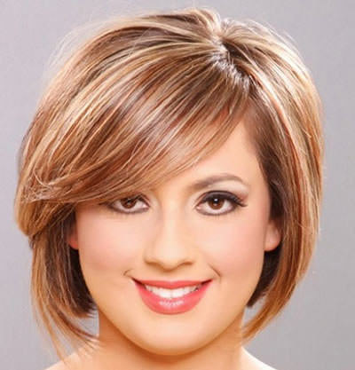 Short/Medium Length Shag with Bangs