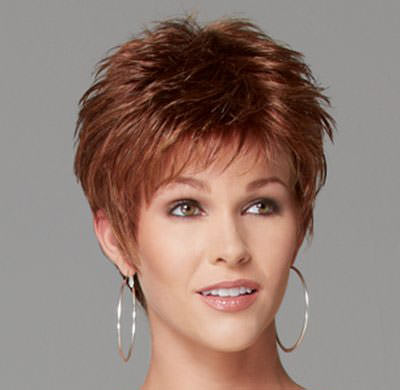 fun and spiky hairstyles for women over 40 the tussled look with ...