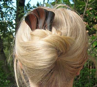 Messy bun hairstyles for wedding